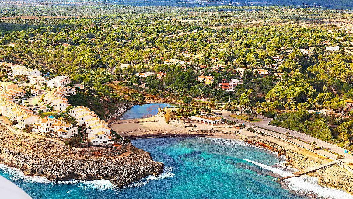 Mallorca Karte Strande.Strand Cala Murada Bei Manacor Im Osten Von Mallorca