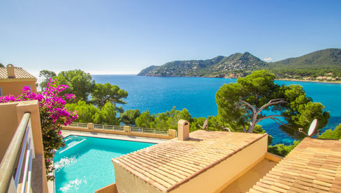 Villa on Mallorca Marblau