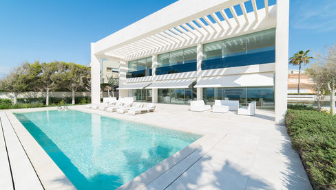 Villa on Mallorca Palma Bay Front Line